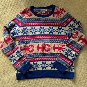 Vineyard Vines Lobster Fairisle Sweater